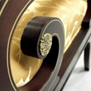 352 Scroll Arm Detail