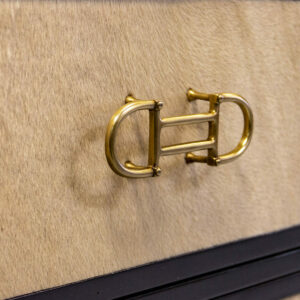 68 4 DW49 DW49 BT4 Bark61 Flat Frame Ho H Equestrian Brass Pull Tapered Leg 2 Detail