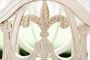 76 082 Brushed Cream Shield Detail