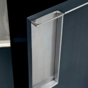 92 010 sideboard 373 indigo striata 77 silver paint silver leaf accents 7 Detail