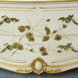K706 Antico White Custom Hand Decoration Detail