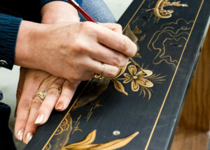 Karges Hand Painted Decoration Craft